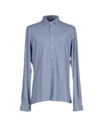 Altea | Blue Shirt for Men | Lyst