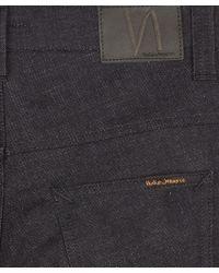 Nudie Jeans | Dark Blue Thin Finn Dry Deep Dark Jeans L30 for Men | Lyst