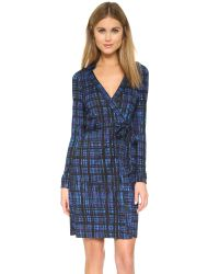 Diane von Furstenberg | Blue New Jeanne Two Wrap Dress | Lyst