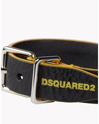 DSquared² - Yellow Contrast Armlet for Men - Lyst
