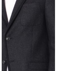 Gucci | Gray Wool-Flannel Single-Breasted Blazer for Men | Lyst