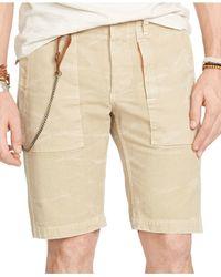 Denim & Supply Ralph Lauren | Natural Slim-fit Cotton Utility Short for Men | Lyst