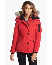 Canada Goose | Red Camp Quilted Jacket | Lyst