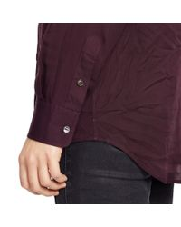 Polo Ralph Lauren | Purple Relaxed Twill Shirt | Lyst