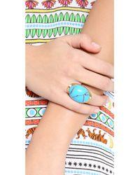 Sunahara - Blue Power Stone Ring - Lyst