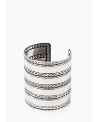 Mango | Metallic Boho Bangle | Lyst