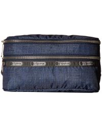 LeSportsac | Blue Modern Double Zip Belt Bag | Lyst