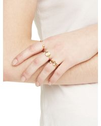 kate spade new york - Metallic Forever Mine Initial Ring - Lyst