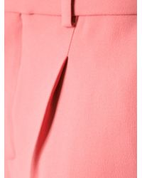 Chloé - Pink Pleated Shorts - Lyst