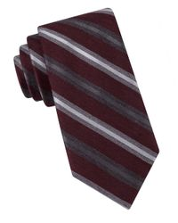 Black & Brown - Purple Multi Stripe Tie for Men - Lyst