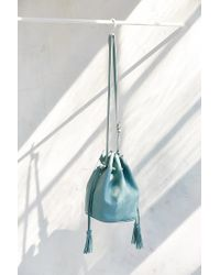 Silence + Noise - Green Simple Bucket Bag - Lyst