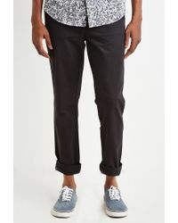 Forever 21   Black Classic Chinos for Men   Lyst
