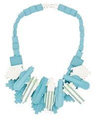 EK Thongprasert | Blue Art De Co' Necklace | Lyst