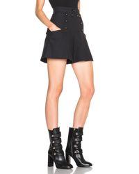 Isabel Marant | Blue Lexia 70s Brandebourg Shorts | Lyst