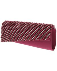 Nina - Red Haidee Clutch - Lyst