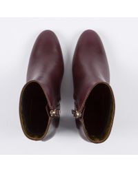 Paul Smith - Red Lane Calfskin-Leather Ankle Boots - Lyst