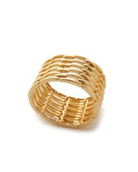 Kenneth Jay Lane | Metallic Open Link Bracelet - Gold | Lyst