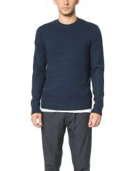 Theory - Blue Veron Fengsel Sweater for Men - Lyst