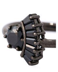 Iosselliani - 'black On Black Memento' Ring - Lyst