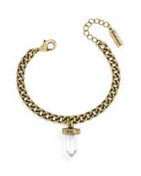 BaubleBar - Metallic Mini Quartz Bracelet - Lyst