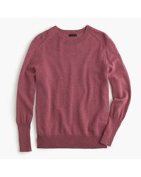 J.Crew - Purple Collection Relaxed Cashmere Pullover Sweater - Lyst