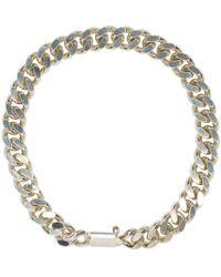 A.P.C. | Metallic Silver Jarvis Bracelet for Men | Lyst