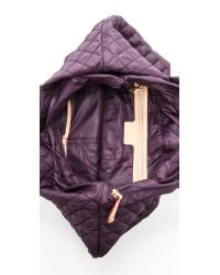 MZ Wallace | Purple Small Metro Tote - Plum | Lyst
