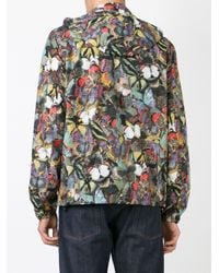 Valentino - Green 'Camubutterfly' Jacket for Men - Lyst