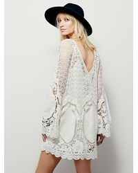 Free People | White Nikki Amore Dress | Lyst