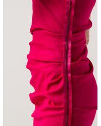Lanvin - Purple Robe Dress - Lyst