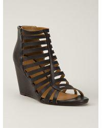 Coclico | Black 'Joni' Sandals | Lyst