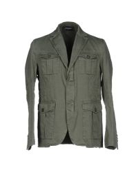 DSquared² - Green Denim Outerwear for Men - Lyst
