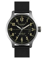 Filson | Black Mackinaw Field Watch 43 Mm for Men | Lyst