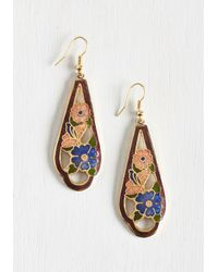 Ana Accessories Inc | Blue Nouveau Wave Earrings | Lyst