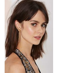 Nasty Gal | Multicolor Belle Of The Ball Cuff Earring | Lyst