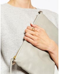 Astrid & Miyu | Metallic Adjustable Wishbone Wrap Ring | Lyst