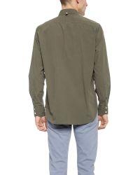 Rag & Bone - Green Standard Issue Shirt for Men - Lyst