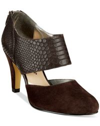 Bella Vita | Brown Neola Pumps | Lyst