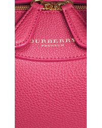 Burberry | Pink The Small Alchester In Grainy Leather | Lyst