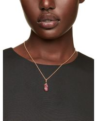 kate spade new york - Pink Fete First Champagne Mini Pendant - Lyst