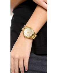 kate spade new york | Metallic Seaport Grand Watch - Gold | Lyst