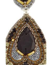 Ranjana Khan | Black Beaded Drop Earrings | Lyst