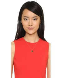 Kate Spade | Metallic Sunglasses Emoji Pendant Necklace - Red Multi | Lyst