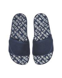 Adidas Originals - Black Hyke Wmns Aoh-008 Slides for Men - Lyst