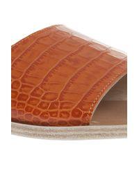 Ancient Greek Sandals - Orange Taygete Sandals - Lyst