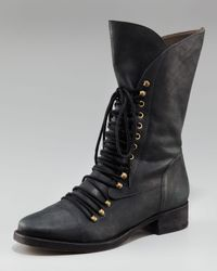 Joie | Brown Jovi Mid-calf Lace-up Boot | Lyst
