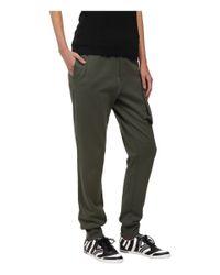 Y-3 | Green Flight Track Pants | Lyst
