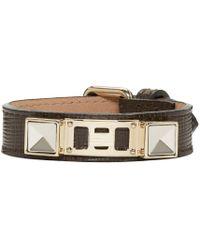 Proenza Schouler - Brown Ps11 Leather Bracelet for Men - Lyst