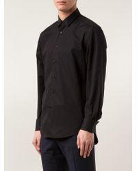 Lanvin - Black Classic Shirt for Men - Lyst