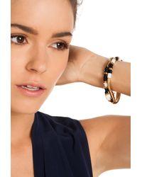 Trina Turk - Metallic Snake Chain Flex Bracelet - Lyst